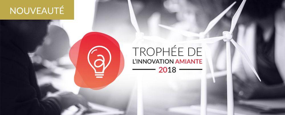 Le Trophée de l'Innovation Amiante 2018