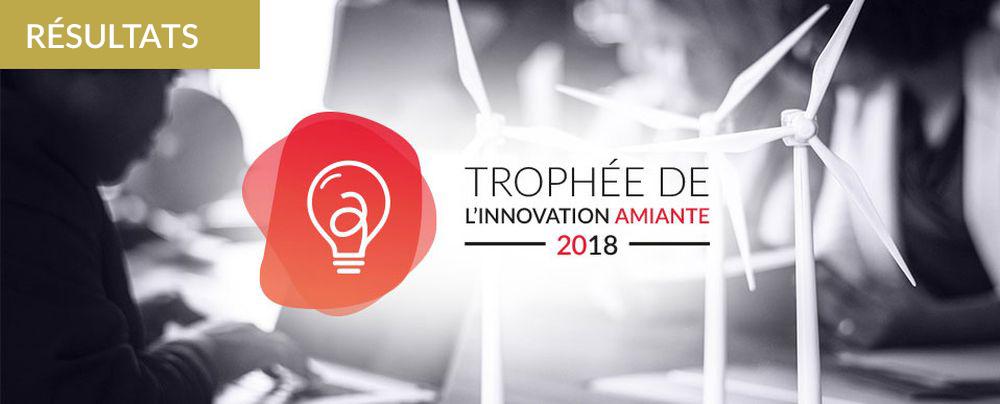 Résultats et Interviews - Le Trophée de l'Innovation Amiante 2018