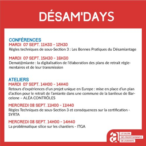 DESAM'DAYS